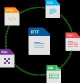 converter arquivo pdf para rtf online